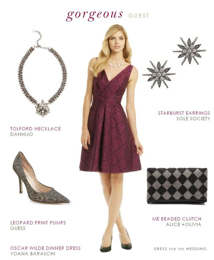 d9169496ca3 Wine Colored Cocktail Dress for a Wedding
