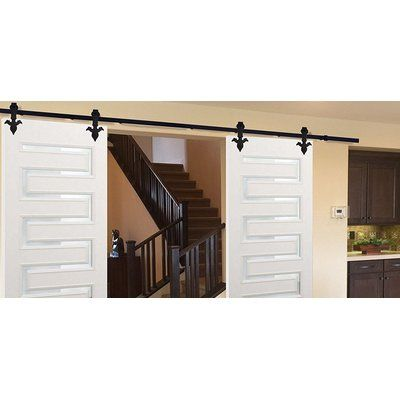 Winsoon Double Heart Arrow 15ft Sliding Barn Door Hardware Sliding Barn Door Hardware Barn Door Hardware Home