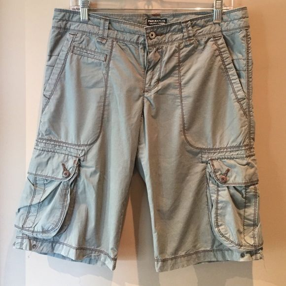 Ralph Lauren Polo Cargo Shorts Super cute and comfortable Ralph Lauren cargo Bermuda shorts. Only worn a handful of times, great condition. Polo by Ralph Lauren Shorts Bermudas