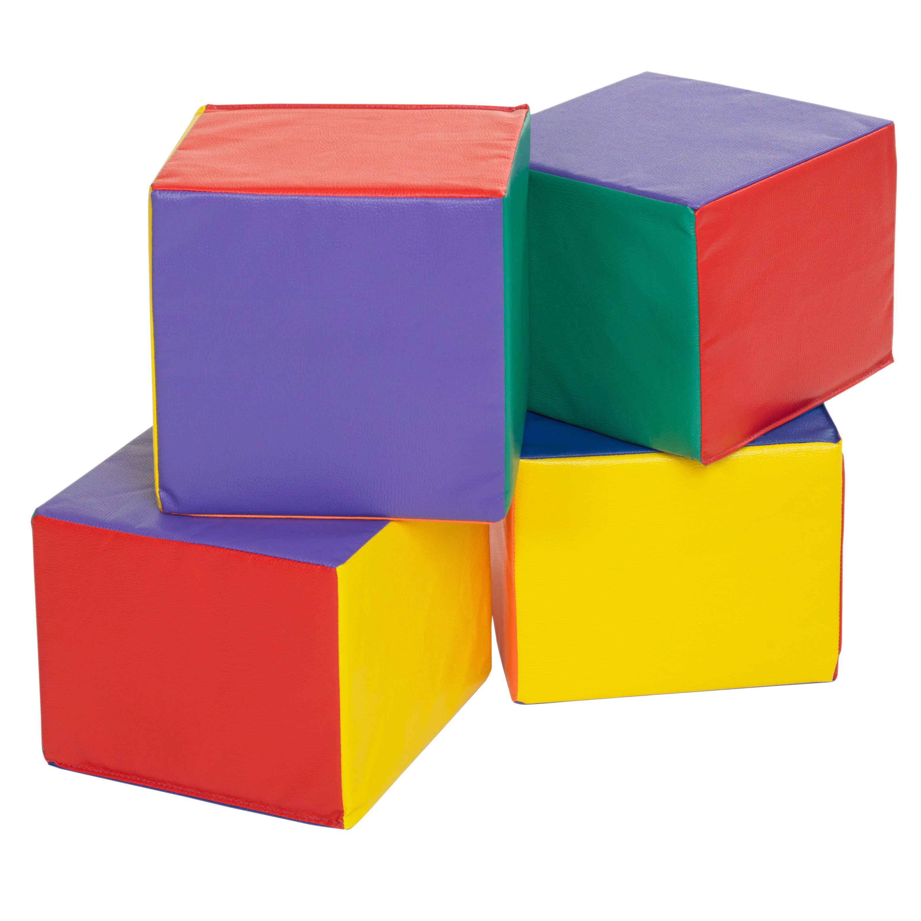 ECR4KIDS Softzone 4Piece Carry Me Cube Child ELR