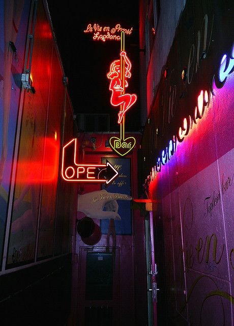 Red Light District by manuesf, via Flickr