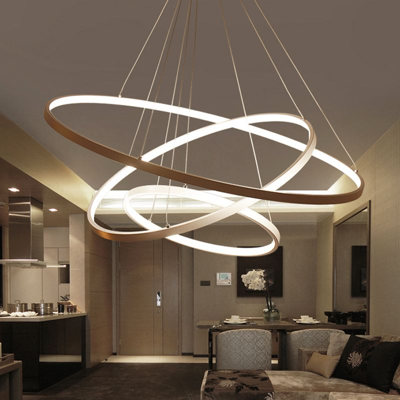 Cheap Pendant Lights Buy Directly From China Suppliers 60cm 80cm 100cm Modern Pendant Lig Living Room Lighting Aluminum Pendant Lighting Modern Pendant Light