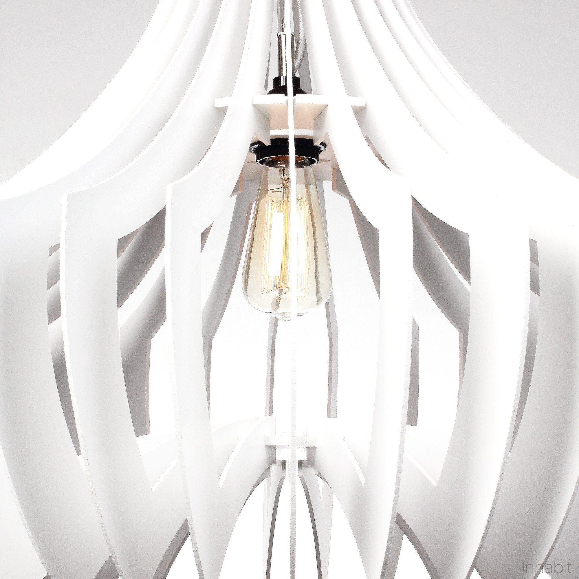 diy pendant light canopy