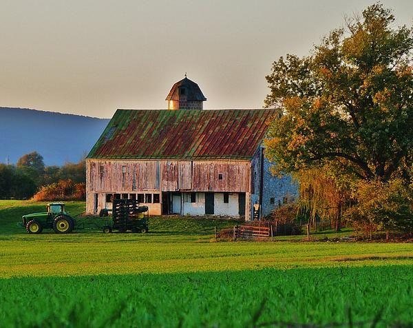 John Deere Green by Bob Geary