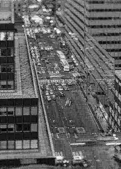 Hot GIF black and white new york landscape traffic manhattan