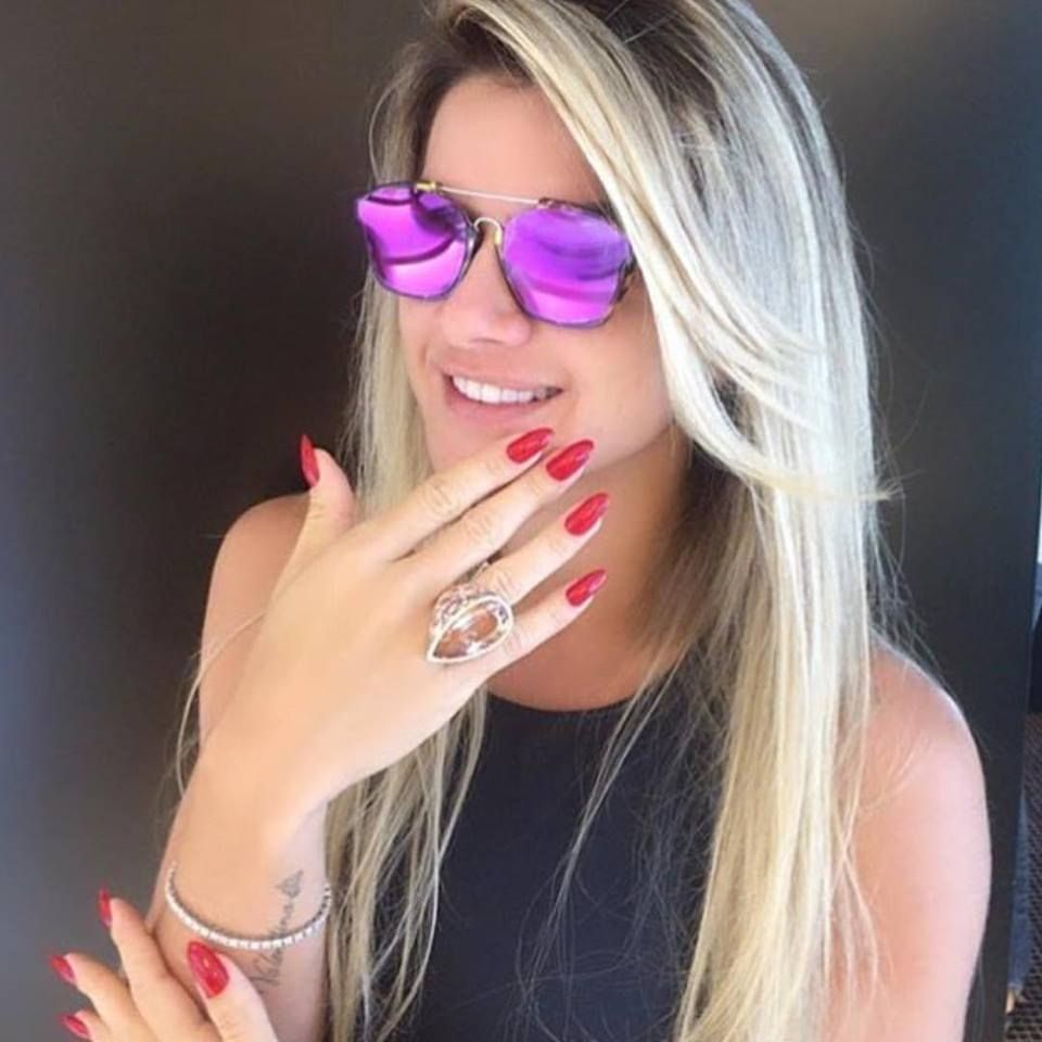 28c912c6b @misantosoficial escolheu a cor #Pink para seu Dior Abstract. #dior # abstract #oculos #oticaswanny #wanny #online #roxo #espelhado