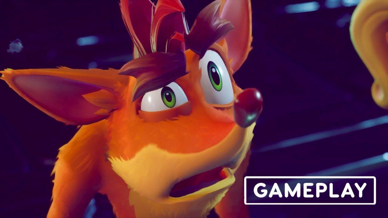 Crash Bandicoot 4 It S About Time Official Gameplay Launch Trailer Crash Bandicoot Cosas Sentido