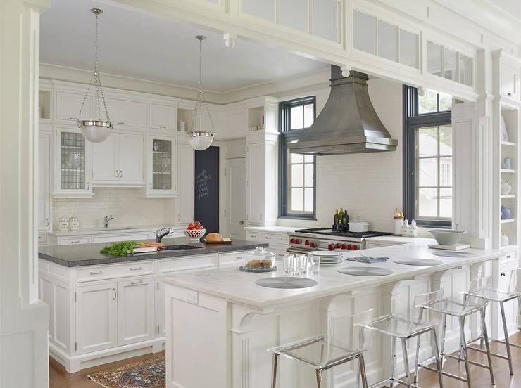 Fabulous Kitchen Features A Zinc French Kitchen Hood