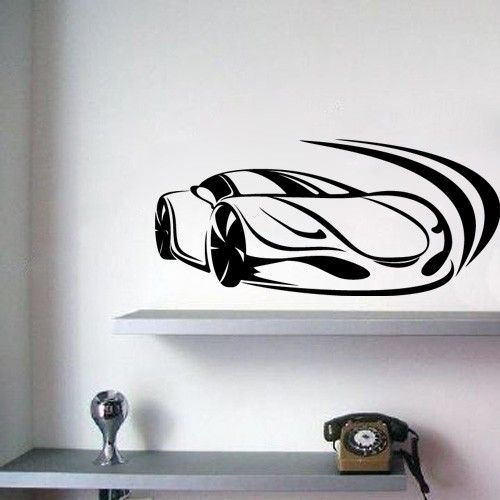 Race Car Wall Decals   Doing The Room Of A Baby Can Be A Great Deal Of Fun,  Especially If Youu0027re A Mom.