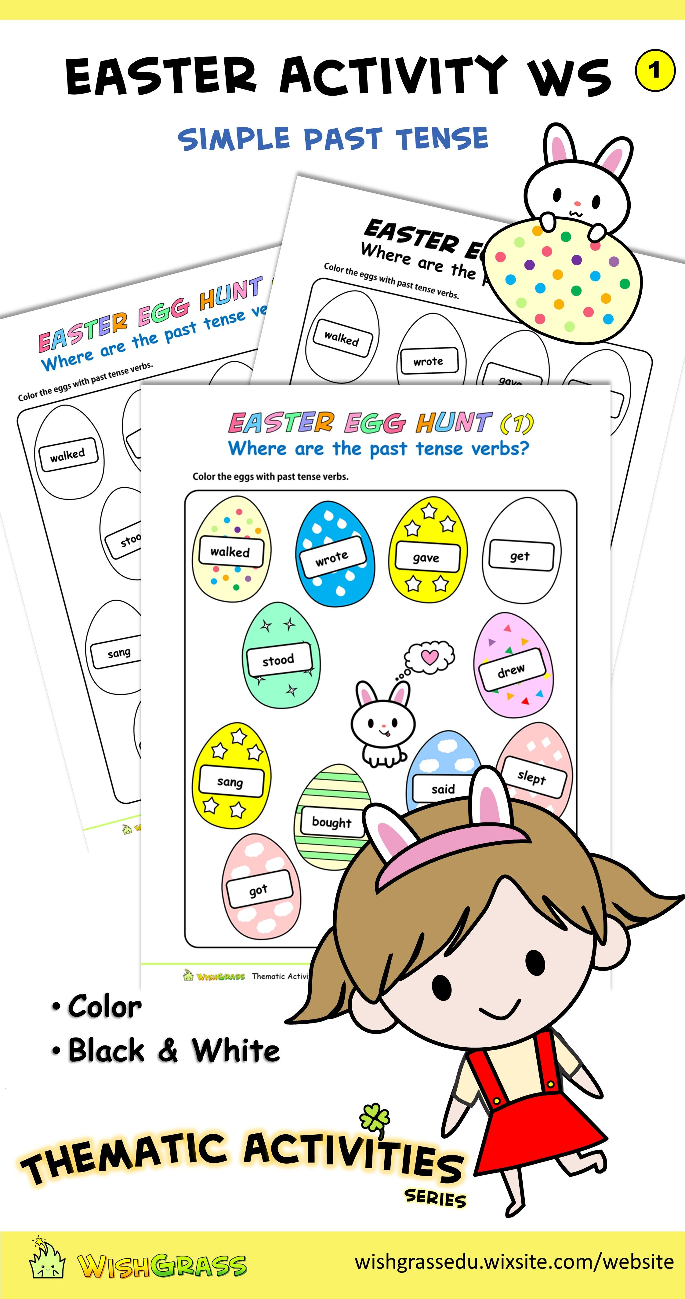 Easter Activity Worksheet