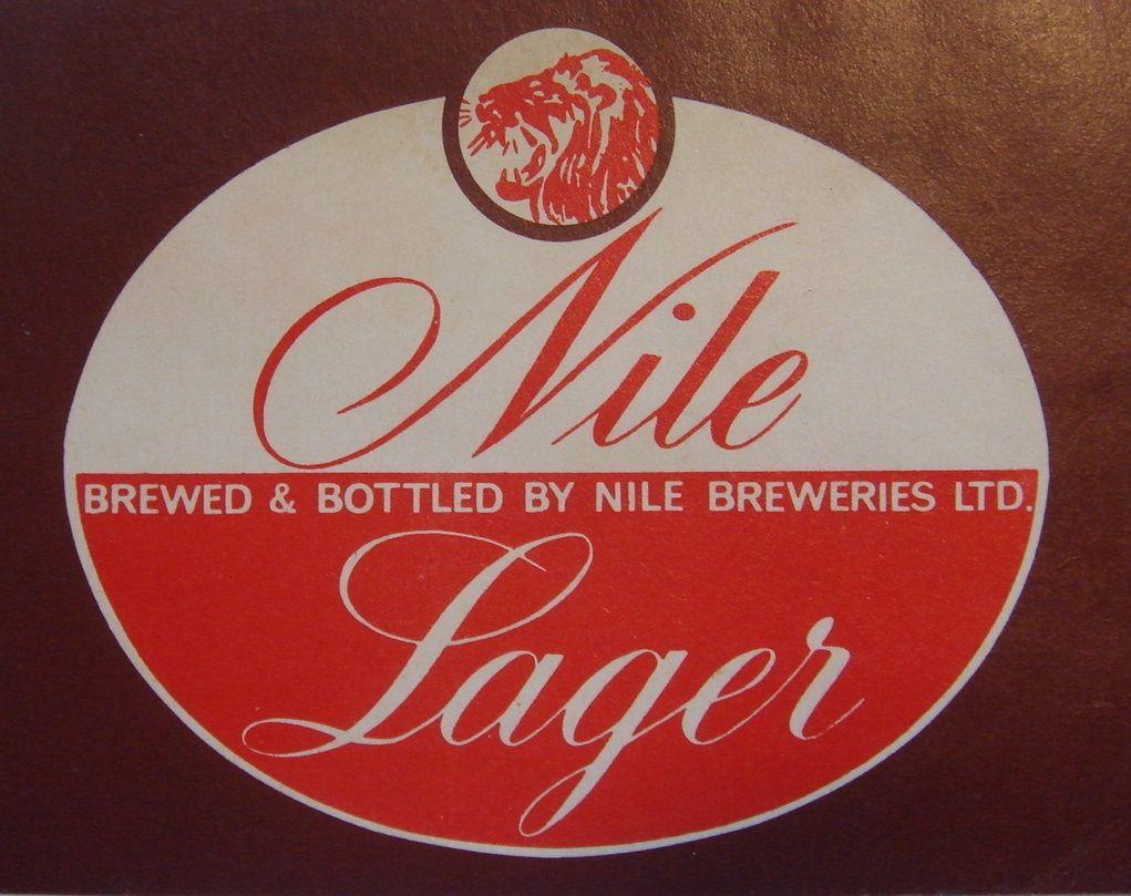Nile Lager Beer Label Uganda