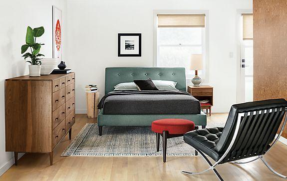 Hoffman Bed with Grove Dresser - Modern Bedroom Furniture - Room ...