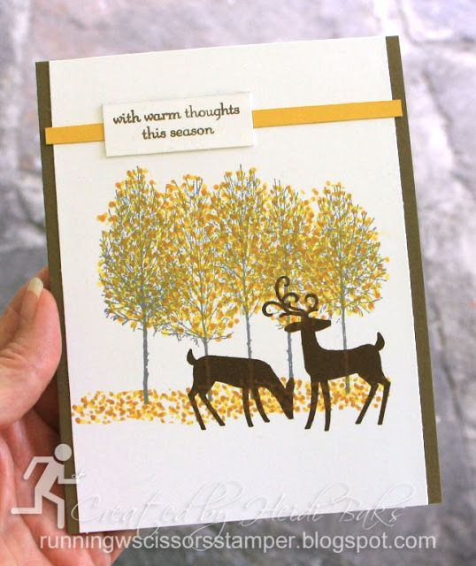 Christmas Tree Shop Poughkeepsie Ny: Stampin' Up Dashing Deer, Winter Woods By