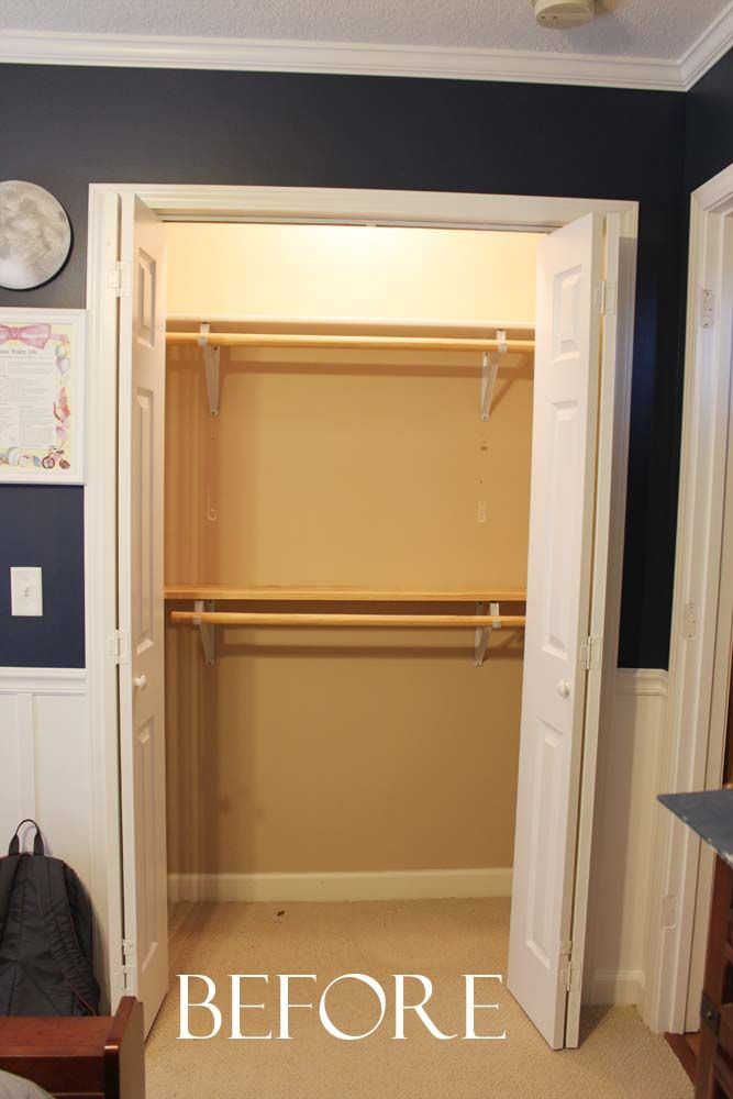 Just Before The Baby Was Born Last September I Was In A Panic To Get A  Closet System In His Room.