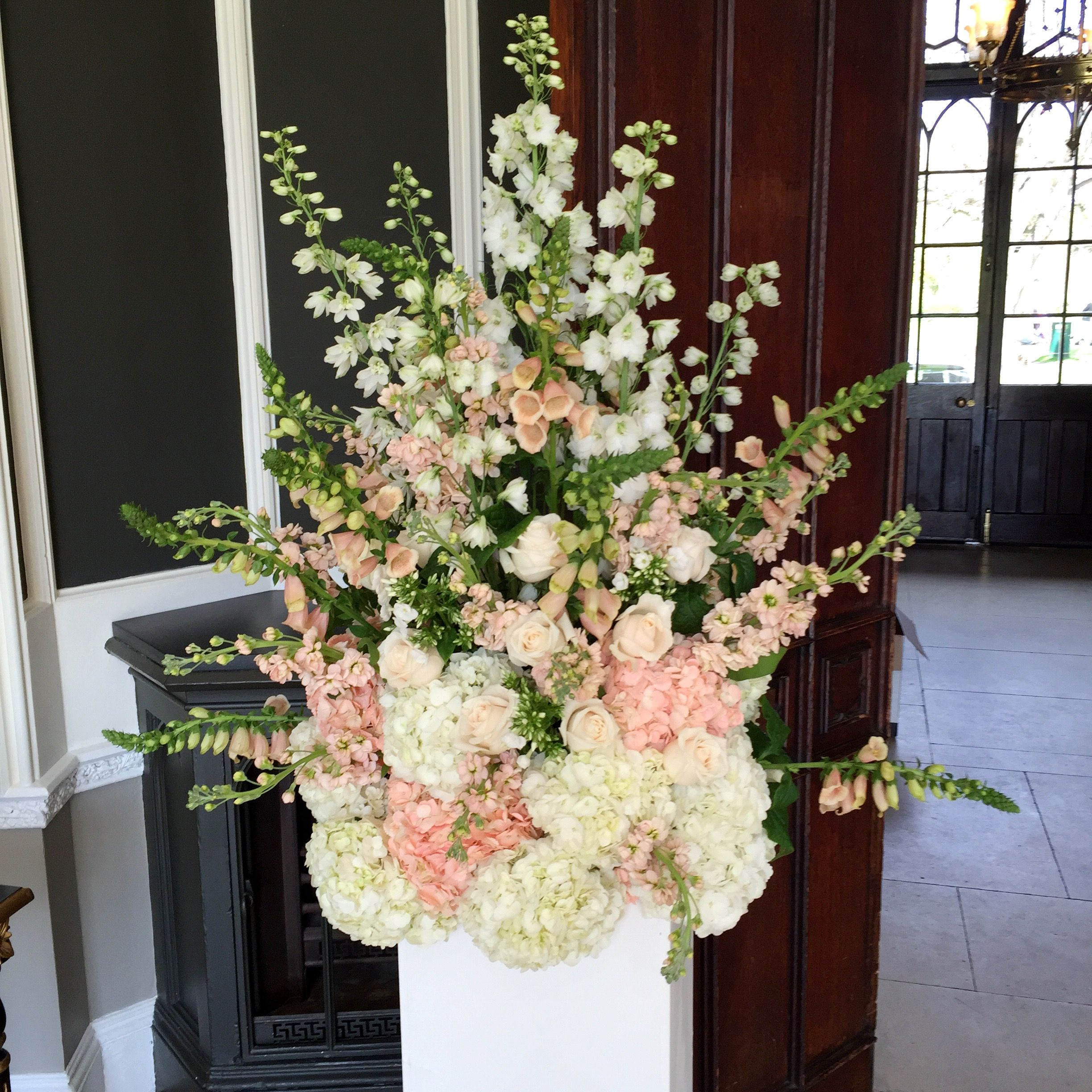 Nonsuch Mansion Wedding Surrey Flowers By Boutique Blooms