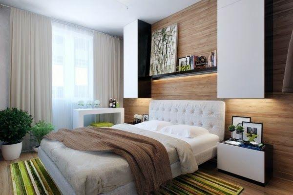Decoraci n para dormitorio peque o dormitorios colores y - Decoracion de dormitorios matrimoniales pequenos ...