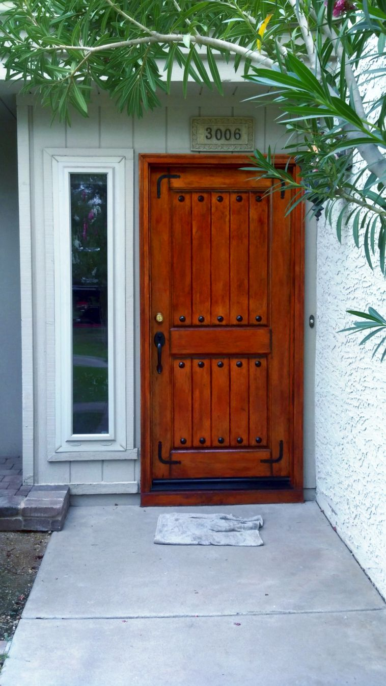 Refinishing Wood Door Wood Doors Refinish Door Doors
