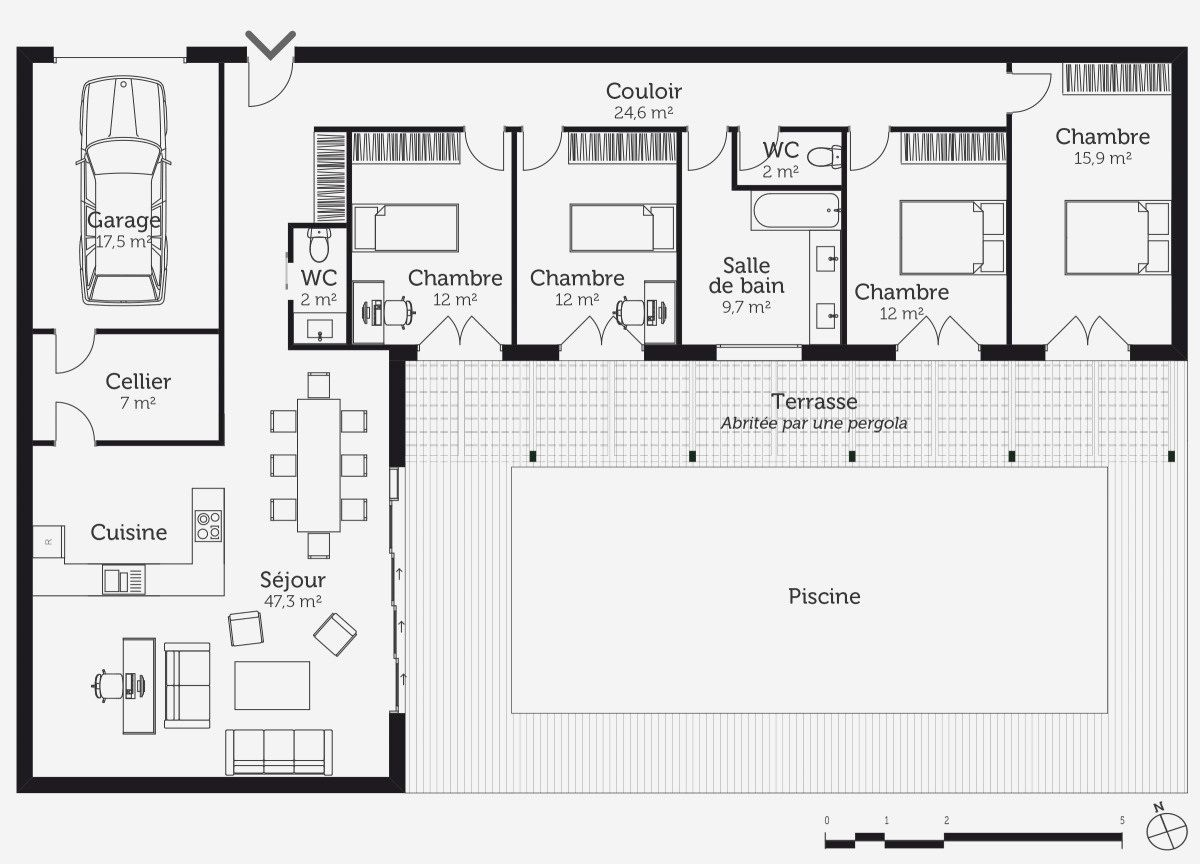 55 Plan Amenagement Cuisine Gratuit Check More At Https Iqkltx Info 200 Plan Amenagement Cuisine Gr Casas Em Contentores Plantas De Casas Projectos De Casas