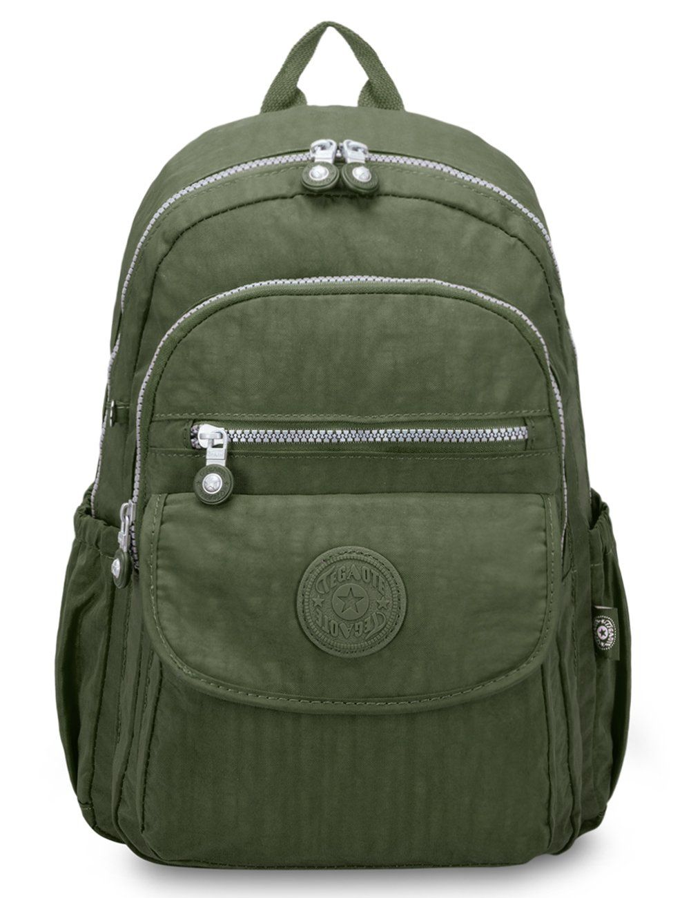 c49c6972e1 Oakarbo Mini Travel Daypack Nylon Cute Junior School Backpack (1503 Army  green)