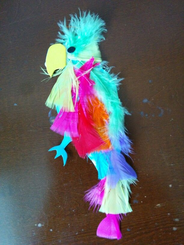Parrot We Made Parrot Jewelry Lei Necklace