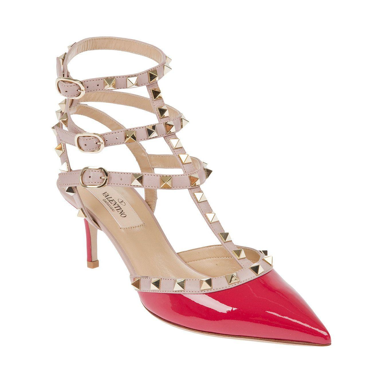 Spot on Damen Knchelriemen Ballerina Schuhe
