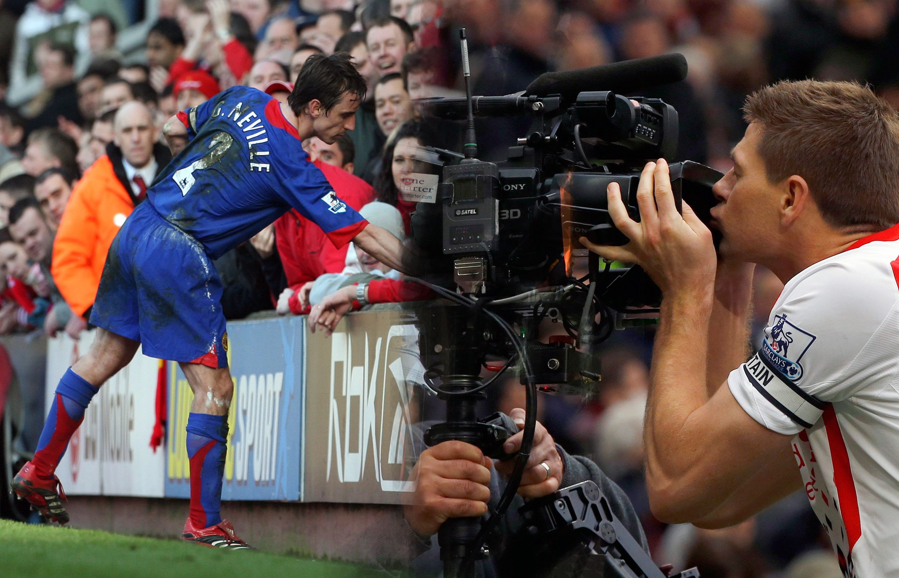 Liverpool Vs Man United See The Six Best Moments In This Historic Rivalry Mufc Lfc Soccer Football Man United Football La Liga