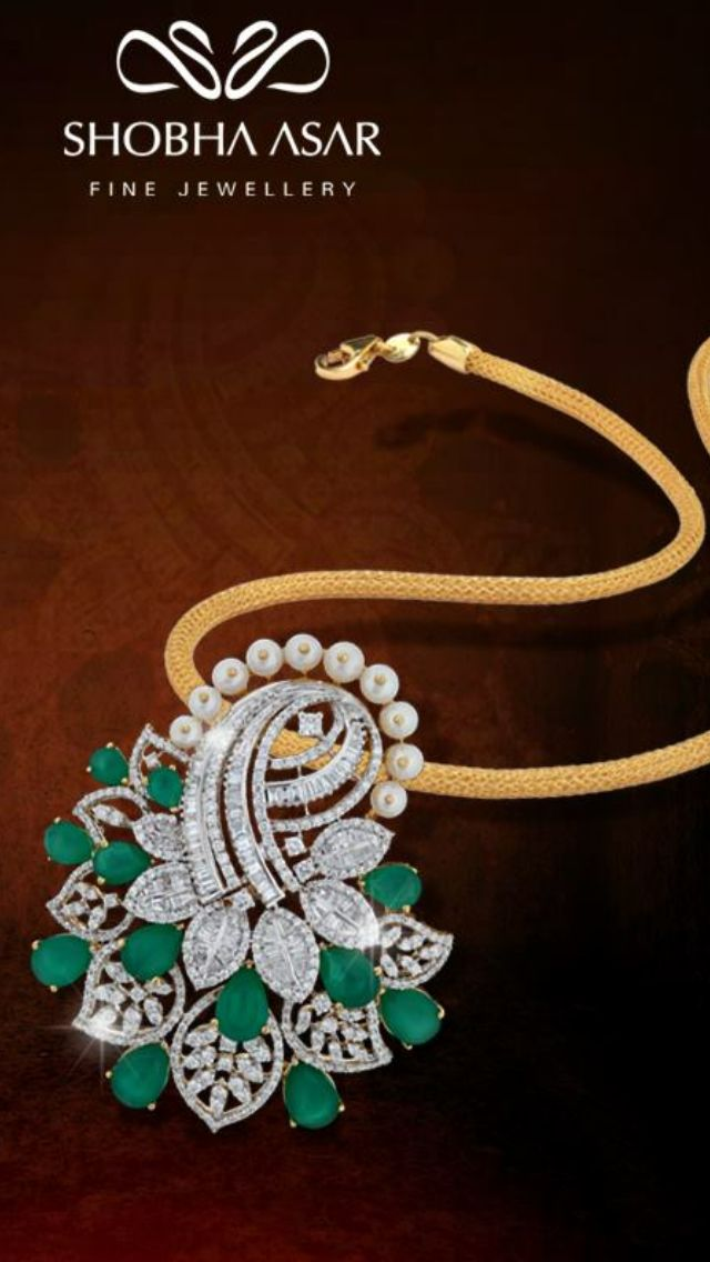 Want to make Shobha Asar Pinterest Diamond Pendants and Jewel