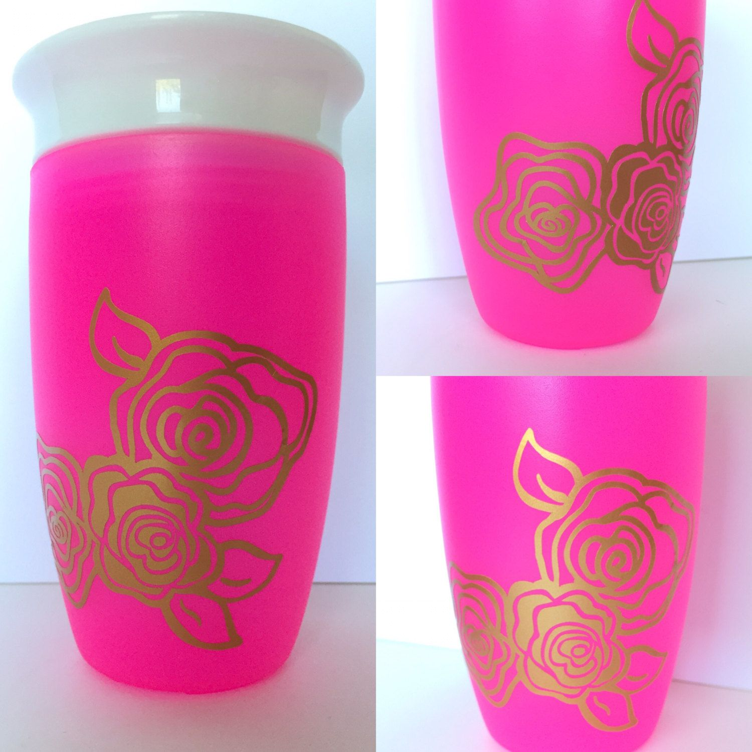 Girls Sippy Cup - Munchkin Miracle 360 Trainer Cup - Sippy Cup 360 ...