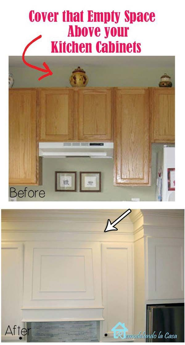 Looking For An Easy And Inexpensive Way To Dress Up Your Old Furniture Or Upgrade The Look Of Home Remodeling Above Kitchen Cabinets Kitchen Cabinets Makeover