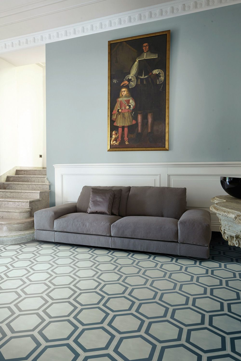 Tile Floor Designs For Living Rooms Plisados Jade C Contemporary Cement Tiles By Jaime Hayon