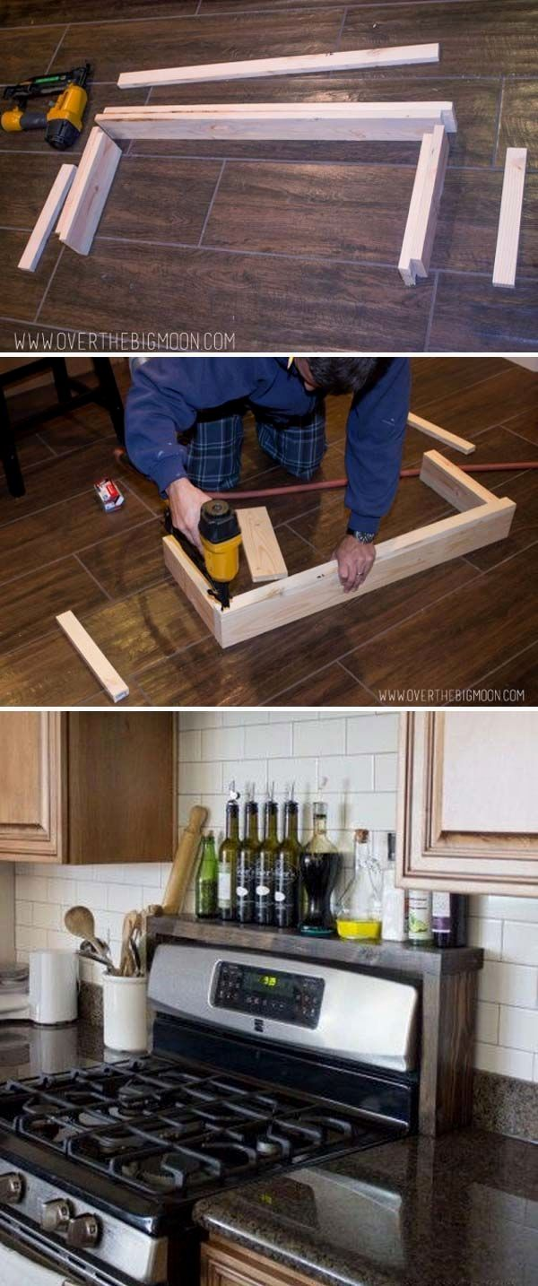 Inexpensive Kitchen Storage Ideas for a Tidy Kitchen and Cleaner