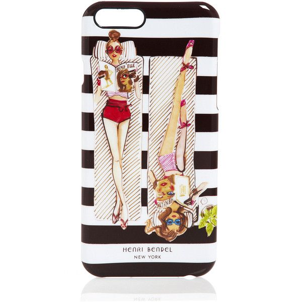 Henri Bendel Sunbathers Case For Iphone 6 ($38) ❤ liked on Polyvore featuring accessories, tech accessories, phones, cover and henri bendel