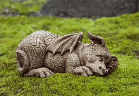 dragon garden statues. PUZZLE DRAGON GARDEN STATUE This Little Dragon Garden Ornament Is Cute And Fun, A Great Statues