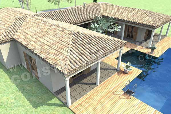 Maison De Style Mediterraneen Plans Dessins Drummond