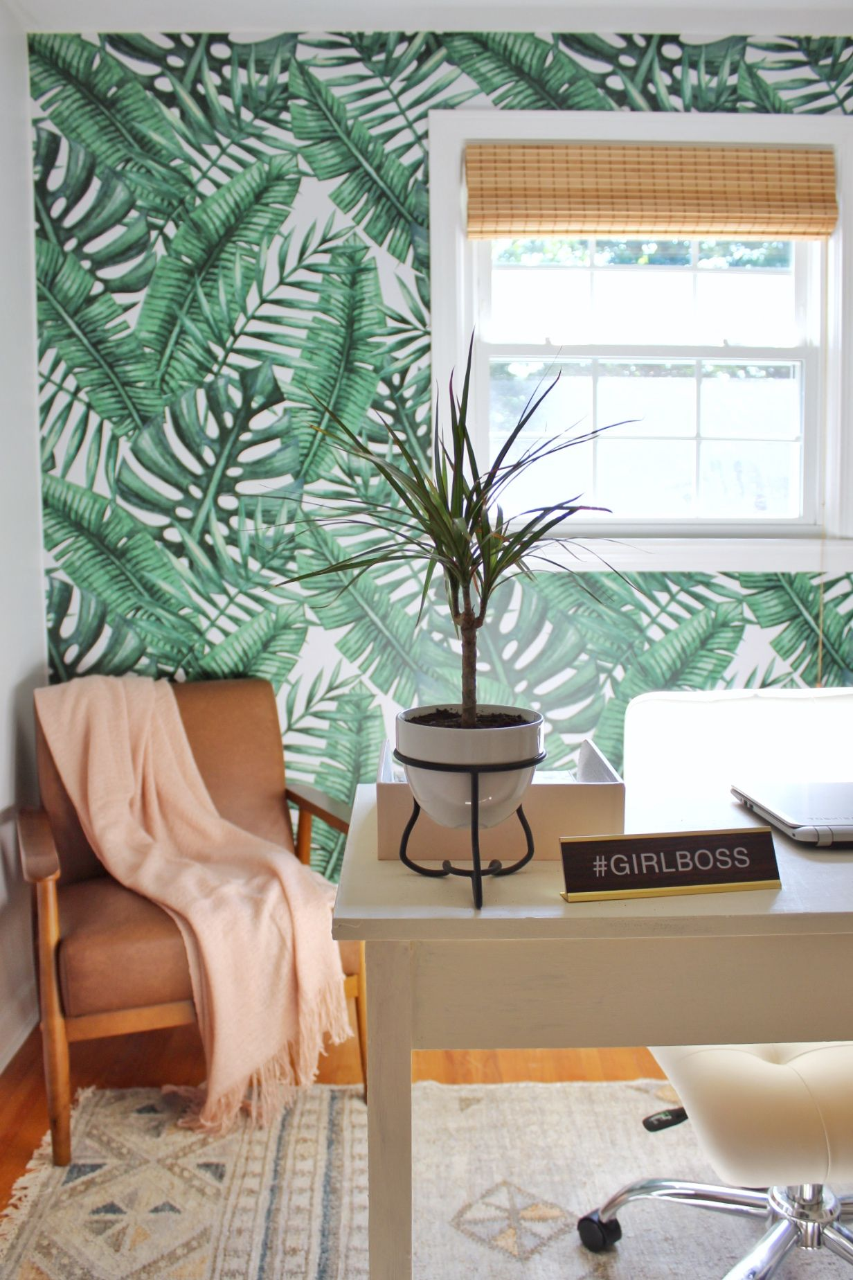 7489fac041 Resting Under Palm Trees Removable Wallpaper