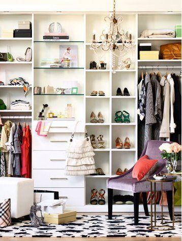 closet improvisado | Armário de vestiário, Armário simples e