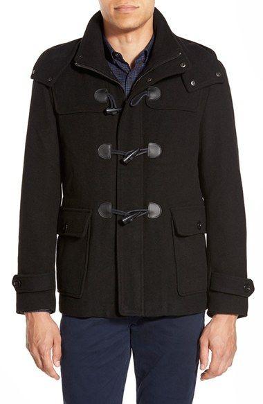MICHAEL KORS DuffleCoat With Removable Hood. #michaelkors #cloth #jacket #coat