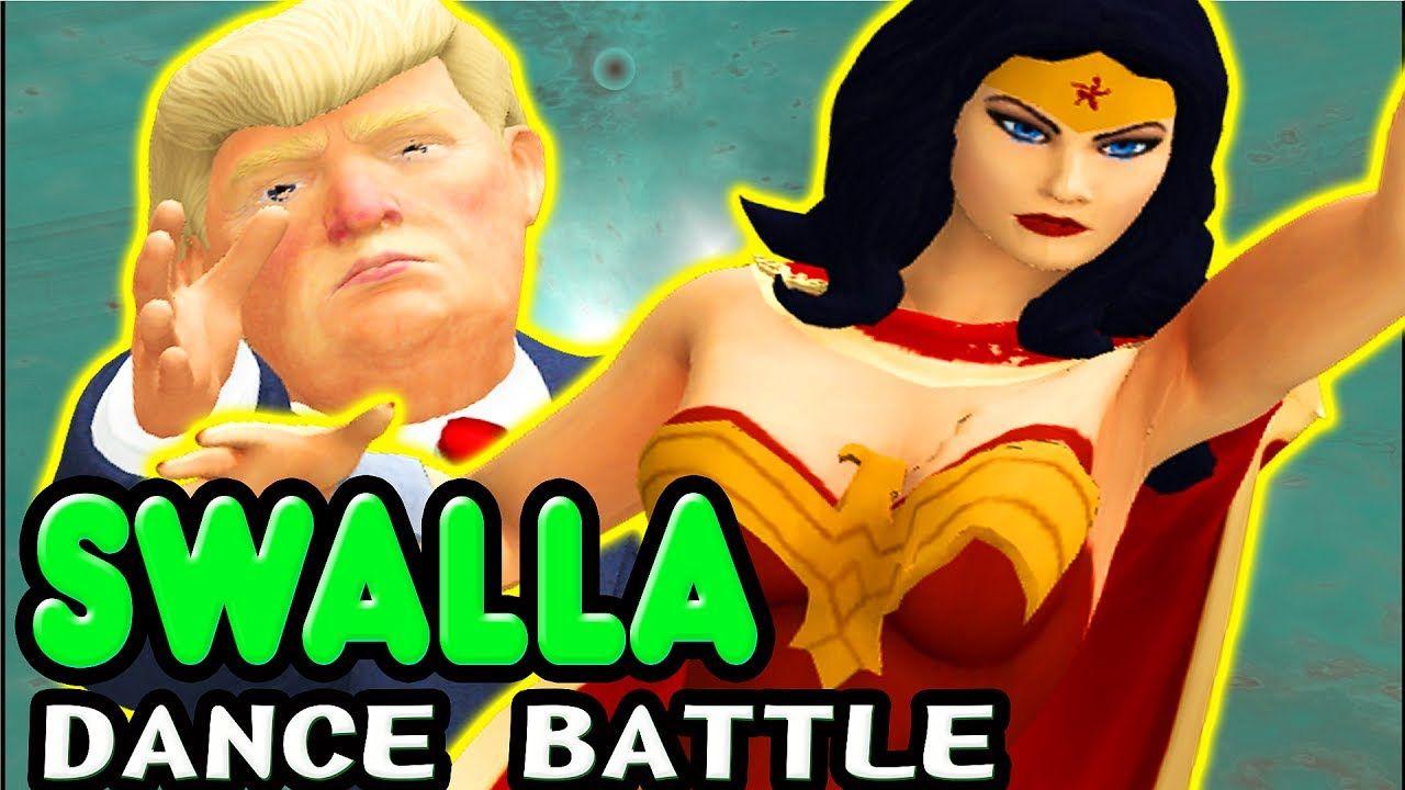 Jason Derulo Swalla Feat Nicki Minaj Ty Dolla Ign Parody Music Video Trump And Wonderwoman Swalla Rhymes For Kids Shape Of You Ed Baby Songs