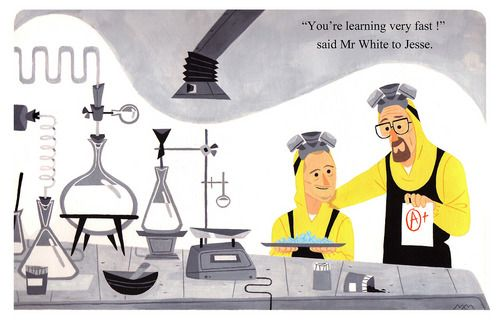 Chemistry Lesson by Maxime Mary