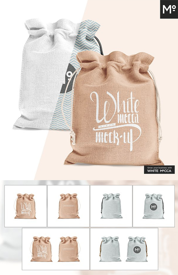 Download 50 Packaging Mockups High Quality Product Packaging Mockup Design Graphic Design Junction Jute Bags Bag Mockup Packaging Mockup
