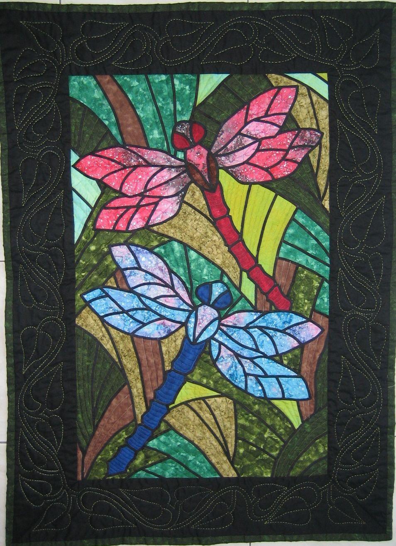 Dragonfly Mosaic Dragonfly Mosaic Dragonfly Stained