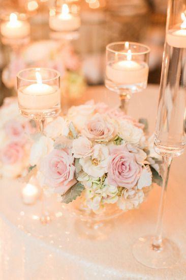 Elegant Blush And Ivory Wedding Blush Weddings Pinterest