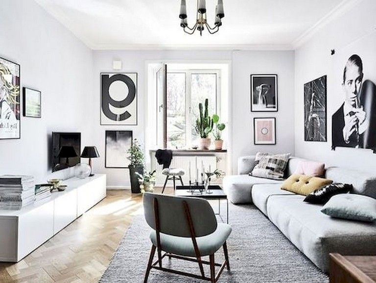 75+ Lovely Modern Apartment Living Room Decor Ideas LIVING ROOM