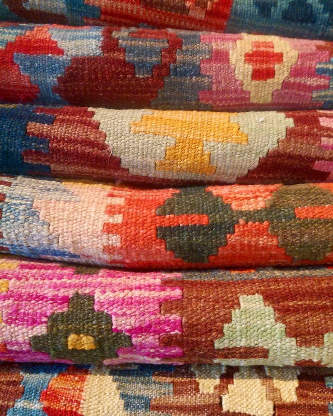 Just in: Our new range of Spring toned veggie dye kilims!  #kilims #colourful #sydney #spring #colourful #interiordesign #decor #homedecor #sydneyinteriors #sydneyspring #bohemian
