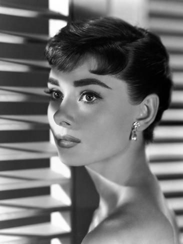 "'Audrey Hepburn. ""Sabrina Fair"" 1954, ""Sabrina"" Directed by Billy Wilder' Photographic Print - 