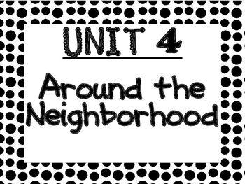 WONDERS 2014/2017 edition Kindergarten Unit 4 Bulletin