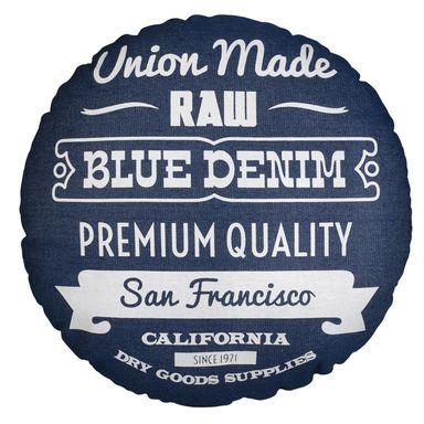 Poduszka Round Niebieska Sr 45 Cm Inspire Poduszki Dekoracyjne W Atrakcyjnej Cenie W Sklepach Leroy Merlin San Francisco California Dry Goods Union Made
