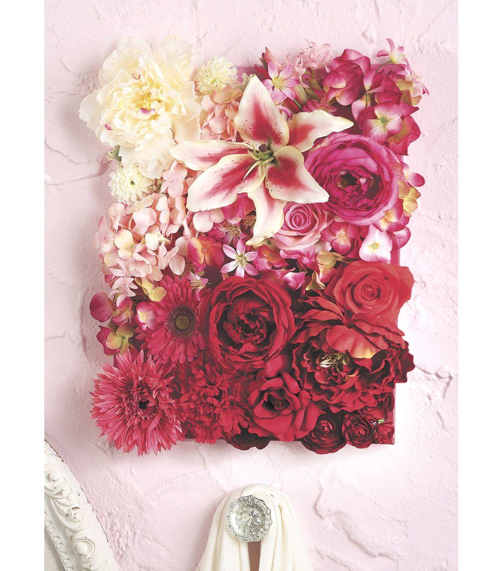 Diy Wall Flowers: Floral Canvas ArtFloral Canvas Art