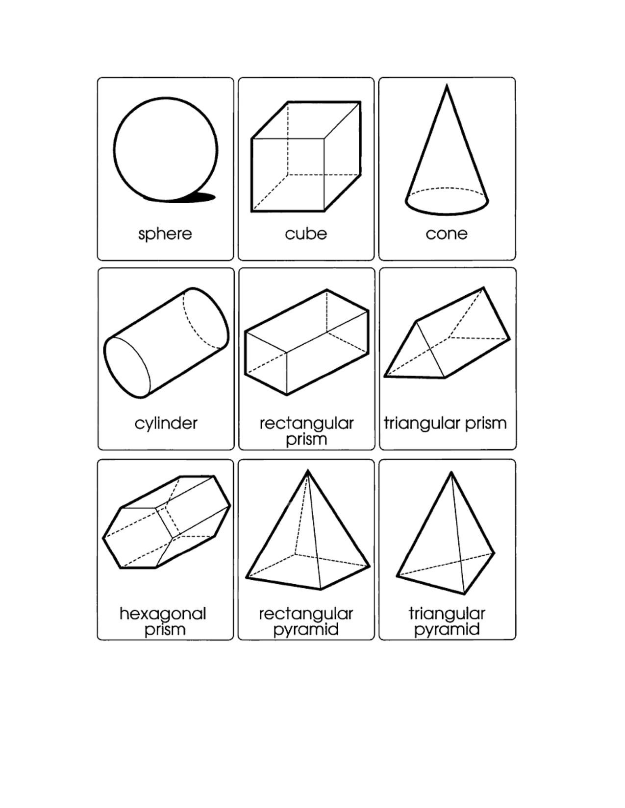 October Preschool Worksheets Planning Playtime Shapes