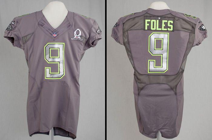 buy online f3190 e9eaf Philadelphia Eagles QB Nick Foles' Pro Bowl jersey lands in ...